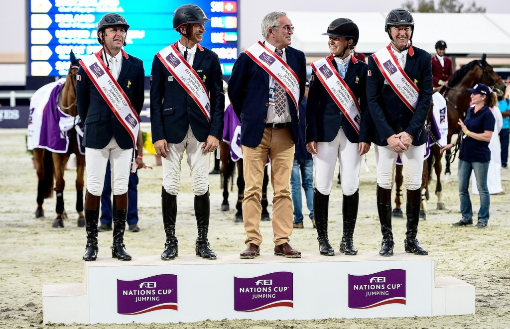 France begin FEI Nations Cup Jumping season with victory