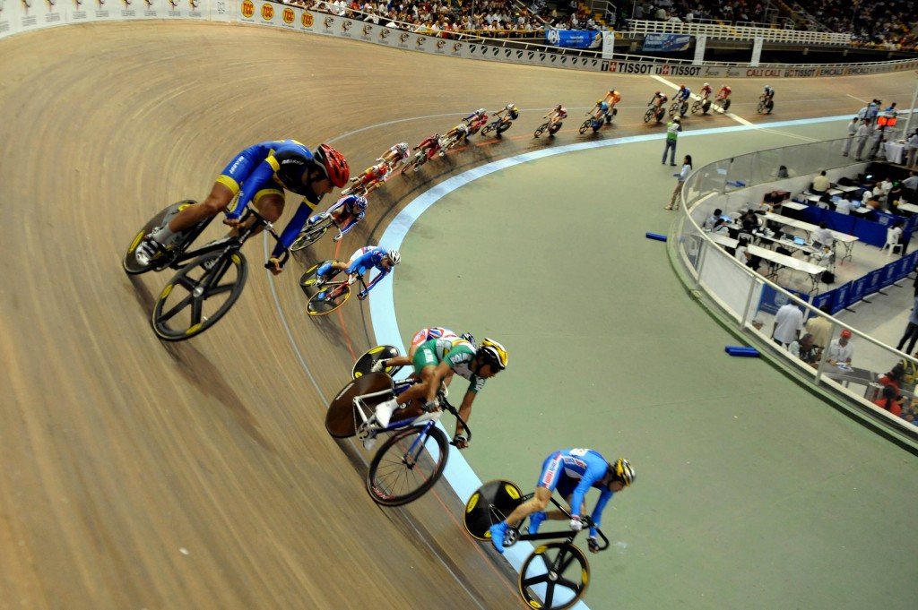 The Alcides Nieto Patiño velodrome is set to play host to the third leg of the UCI Track Cycling World Cup ©Getty Images
