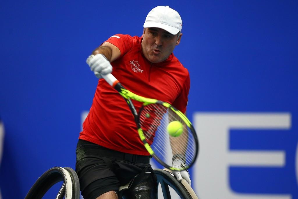 Top seed Houdet through to semi-finals at ABN AMRO World Wheelchair Tennis Tournament