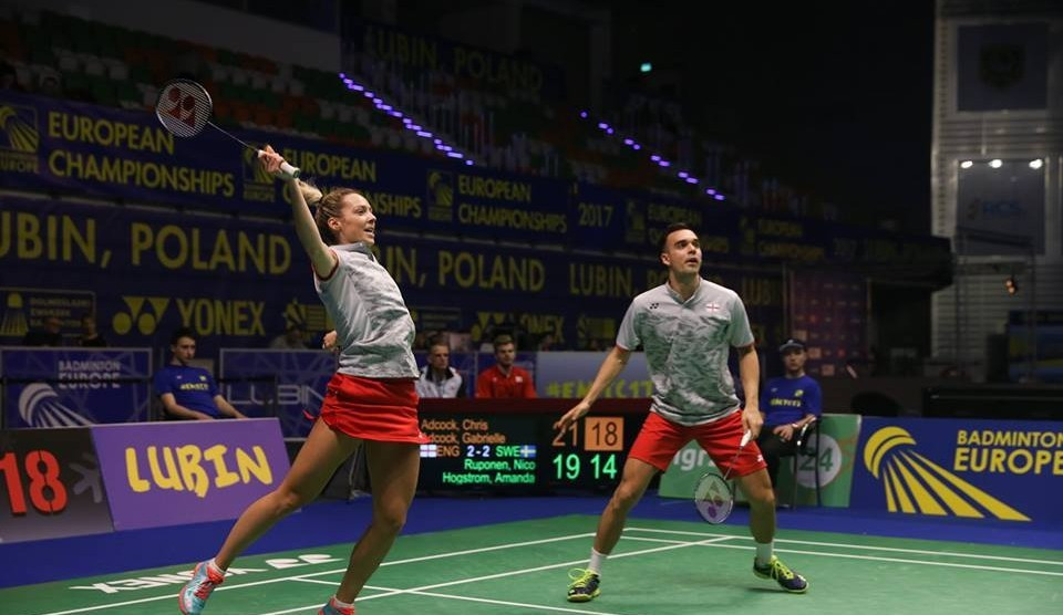 England continue excellent start to European Mixed Team Badminton Championships