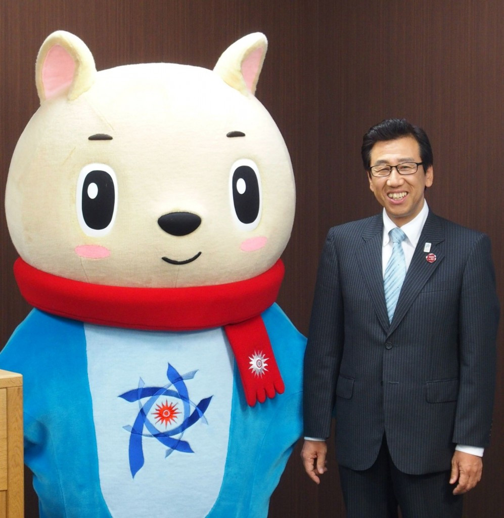 "Sapporo Mayor pledges ""unrivalled hospitality"" during Asian Winter Games"