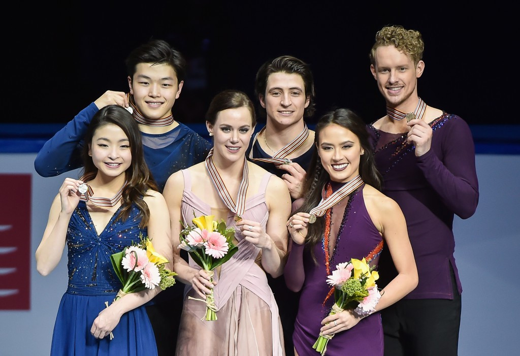 Virtue and Moir claim third ISU Four Continents Figure Skating Championships ice dance title
