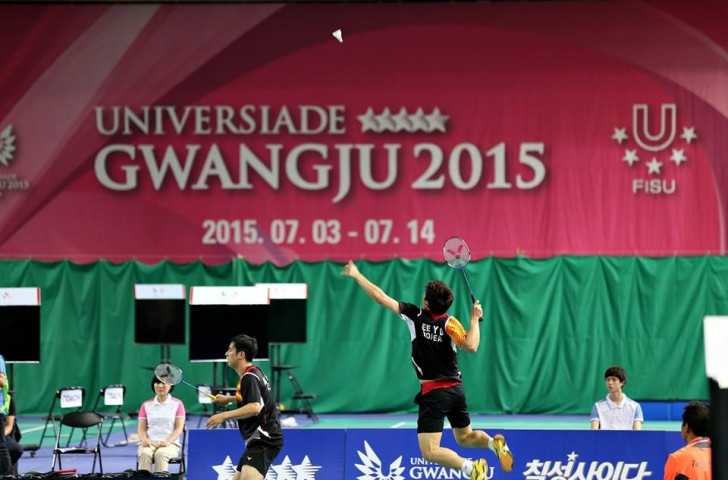 South Korea ease past China to claim Gwangju 2015 mixed team badminton spoils