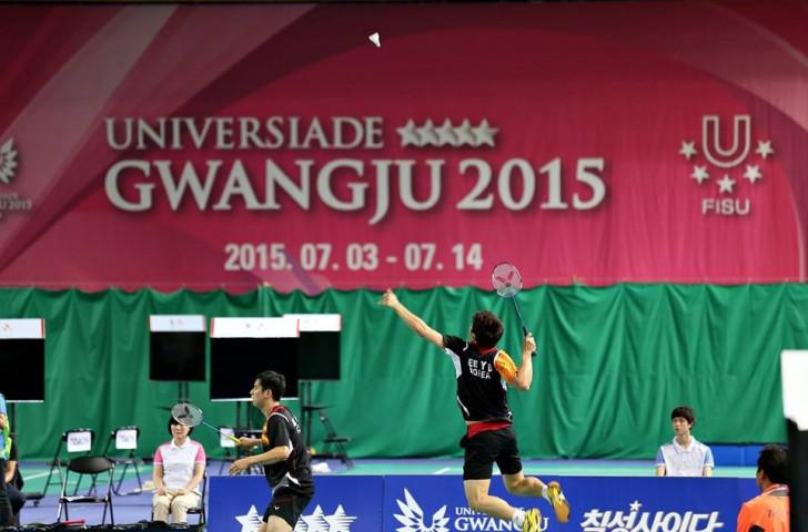 South Korea were utterly dominant over China in the mixed team badminton final ©Gwangju 2015