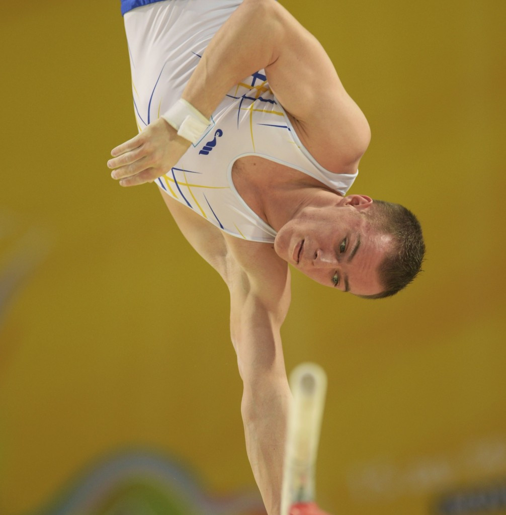 Oleg Verniaiev leads going into the all-around final at the European Artistic Gymnastics Individual Championships ©UEG