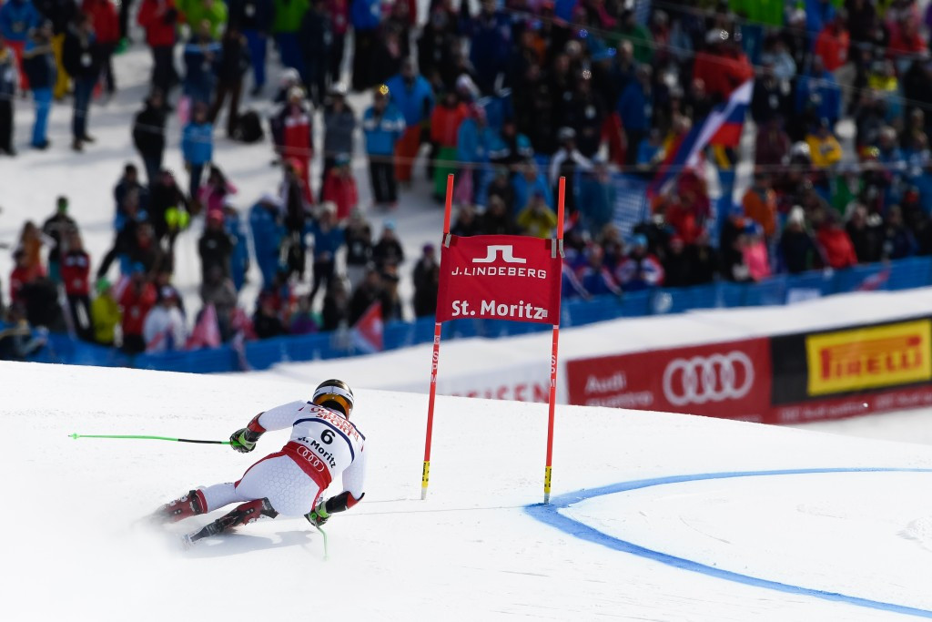 Marcel Hirscher posted an overall time of 2:13.31 which was good enough to clinch first place ©Getty Images