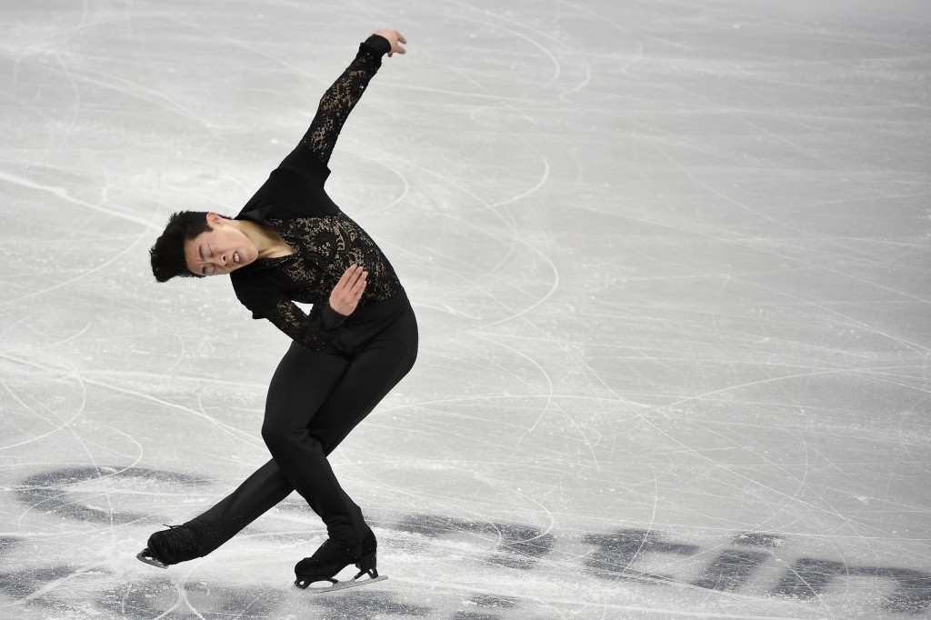Nathan Chen leads the men's singles at the halfway stage ©Getty Images