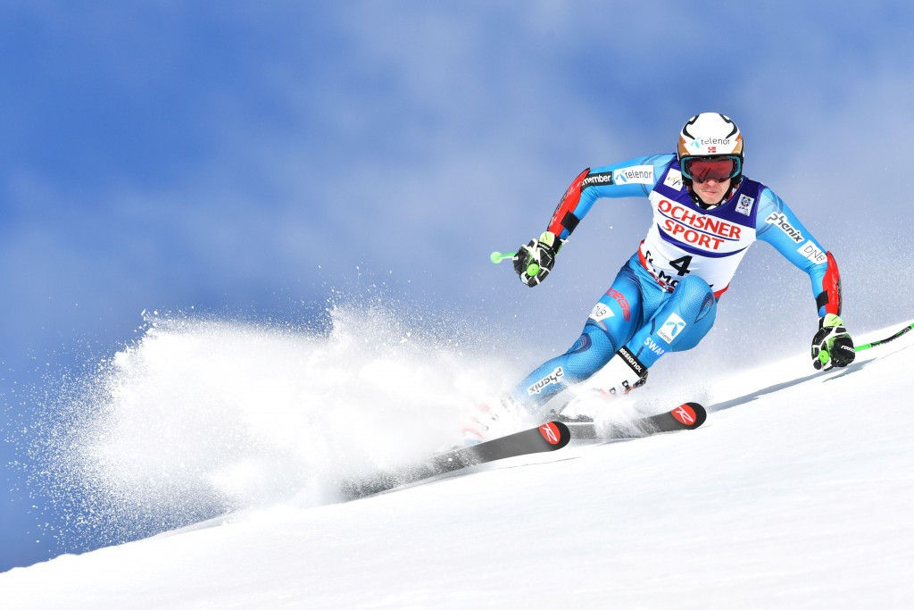 Overall FIS Alpine skiing World Cup second place Henrik Kristoffersen finished fourth ©Getty Images