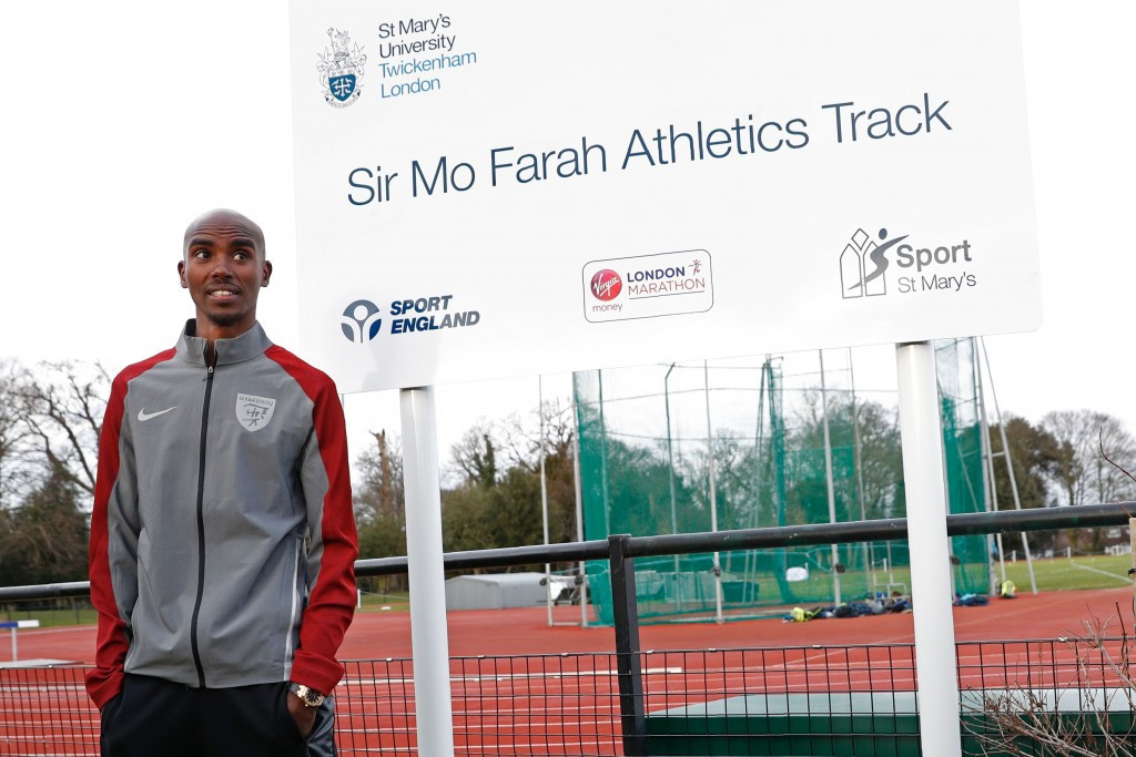 Sir Mo Farah has again criticised American President Donald Trump's executive order on immigration as he prepares to race on home soil ©Getty Images