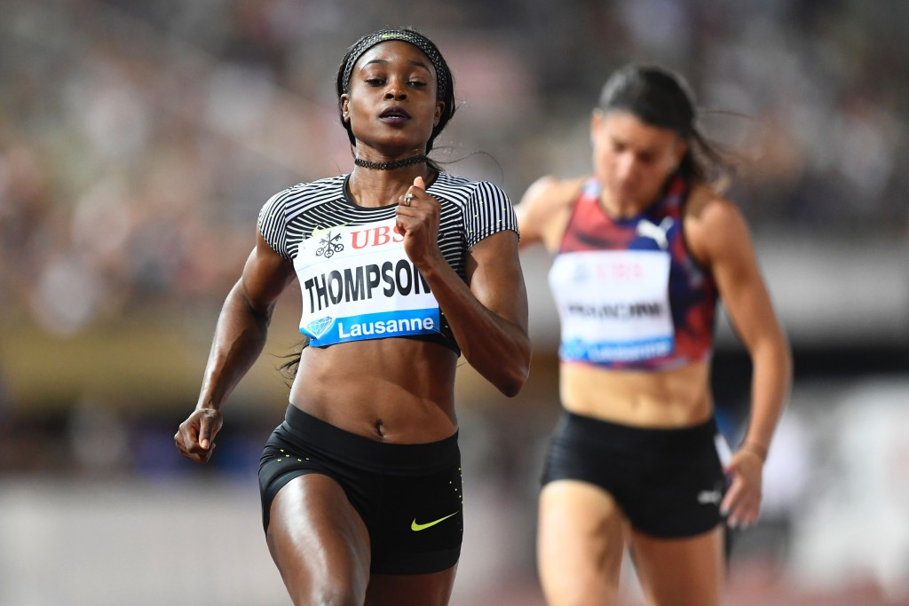 Jamaican sprint queen Elaine Thompson is also due to compete in Birmingham ©Getty Images