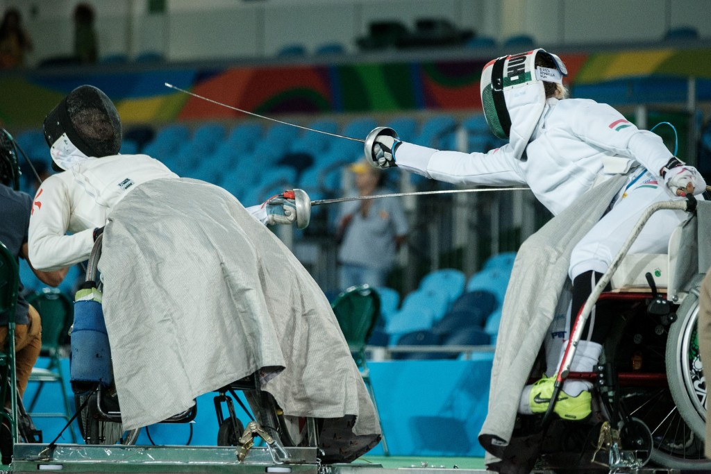 Gold for Veres on IWAS Wheelchair Fencing World Cup opening day