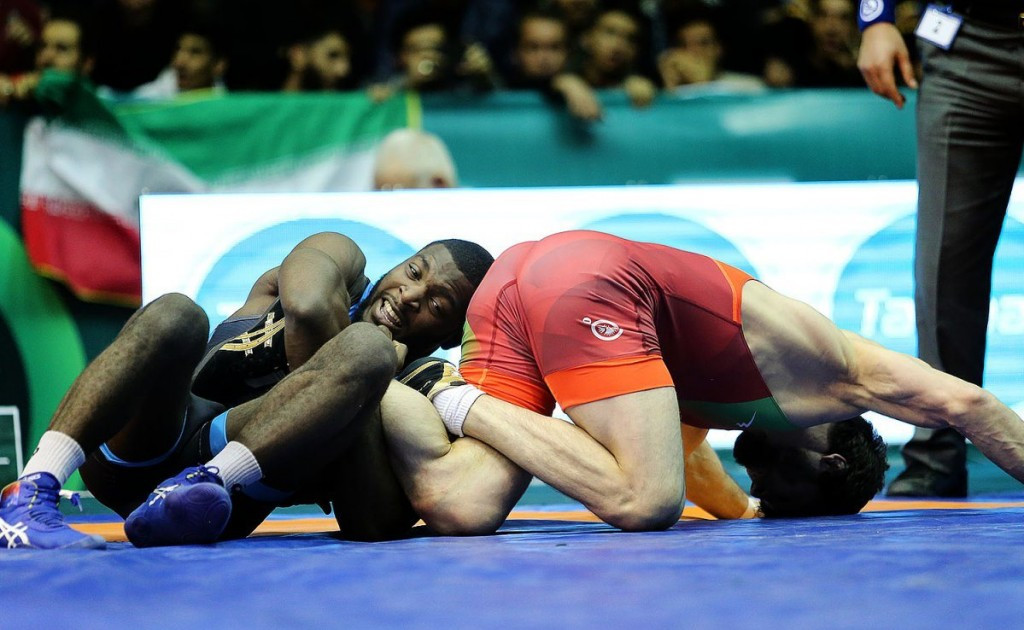 The United States won their group but had to settle for the silver medal ©UWW/Alireza Akbari