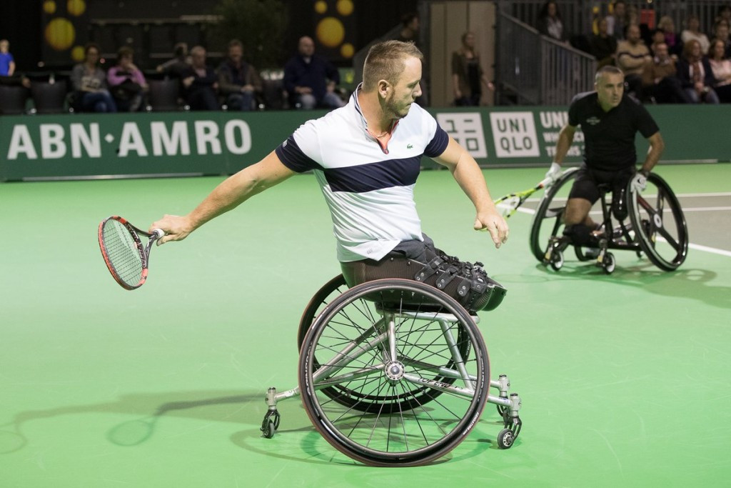 Double joy for Peifer at ABN AMRO World Wheelchair Tennis Tournament