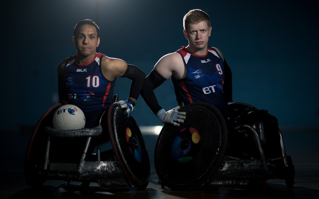British wheelchair rugby players Ayaz Bhuta and Jim Roberts have been appointed BT Ambassadors