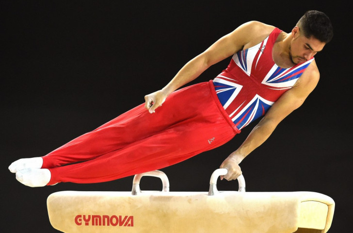 London 2012 Olympic silver medallist Louis Smith has topped the pommel horse standings