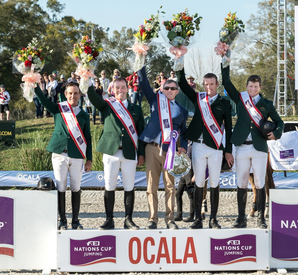O'Connor steers Ireland to FEI Nations Cup success