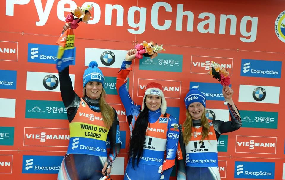 Geisenberger secures Luge World Cup title with second place finish in Alpensia