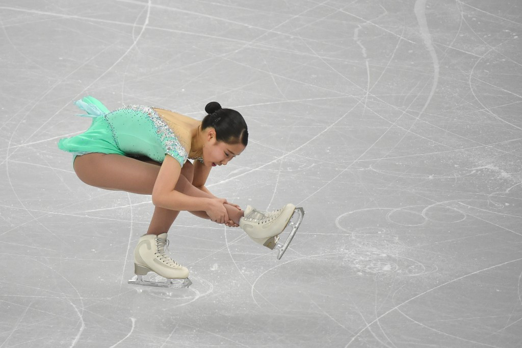 Mai Mihara claimed the ladies' singles title at the Four Continents Championships ©Getty Images
