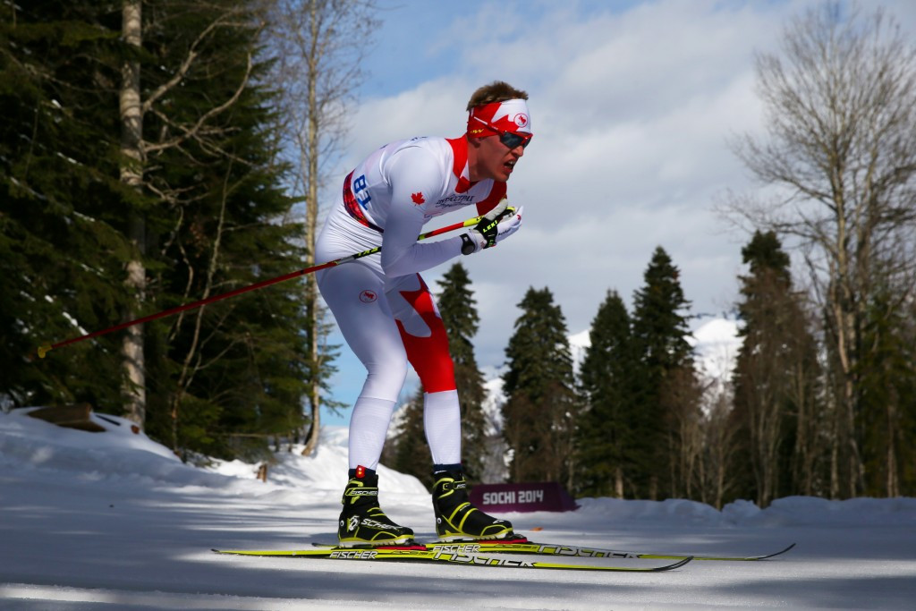 Mark Arendz of Canada sealed the men's standing honours ©Getty Images