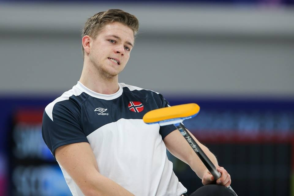 Norway moved into second place in the men's event ©WCF