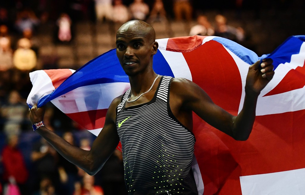 Sir Mo signs off indoor athletics career with European 5,000m record