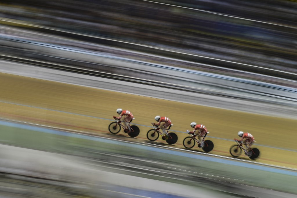 Denmark enjoyed victory in the men's team pursuit final ©Getty Images