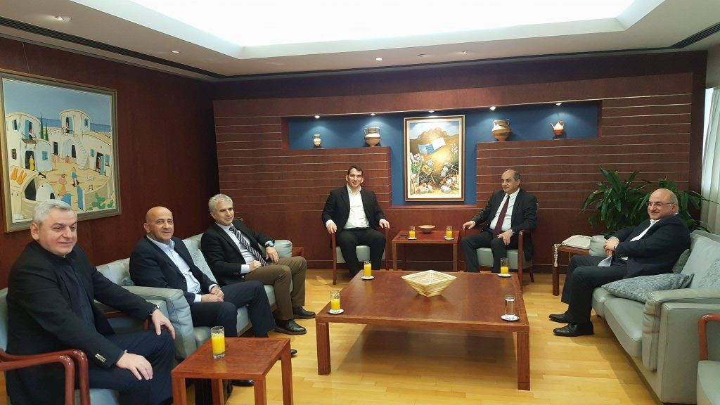 IWF Executive Board member Pyrros Dimas has visited the Cyprus Weightlifting Federation ©IWF