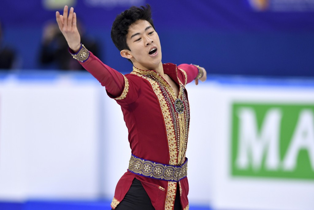 Nathan Chen won the men's singles competition at the ISU Four Continents Figure Skating Championships today ©Getty Images