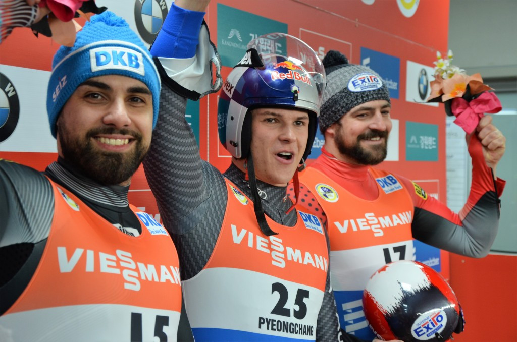 Italy's Fischnaller wins men's Luge World Cup title in Alpensia