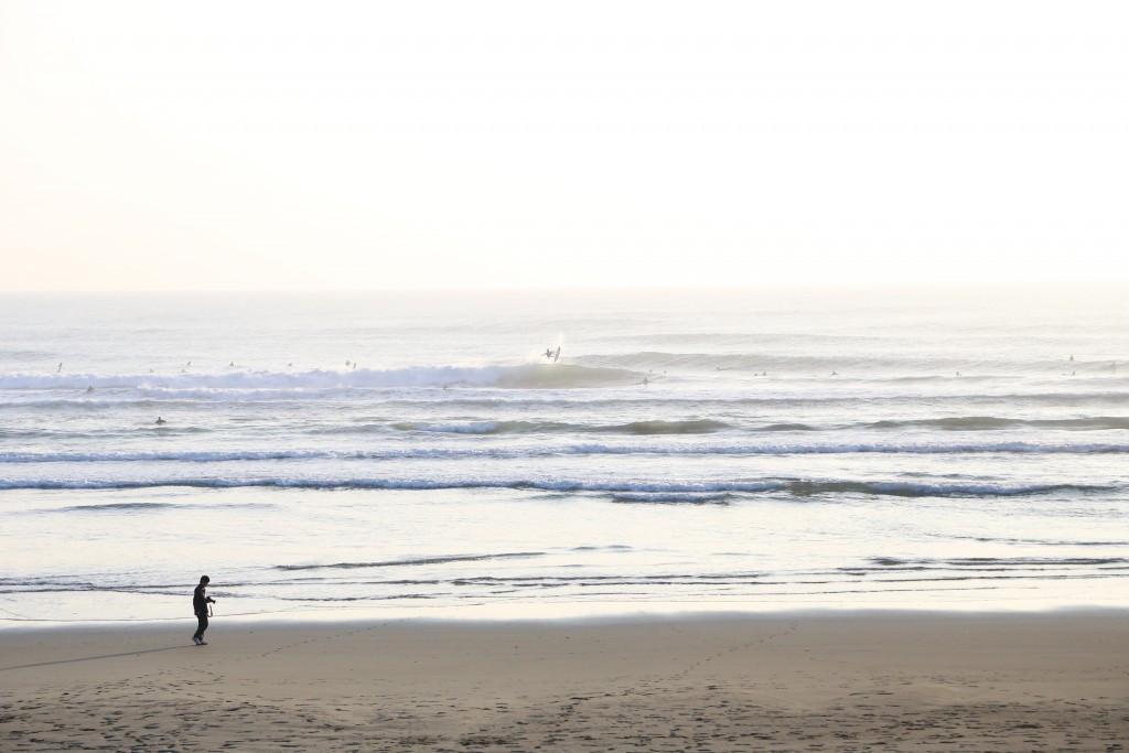 Okuragahama beach will host the 2017 World Junior Surfing Championship ©ISA
