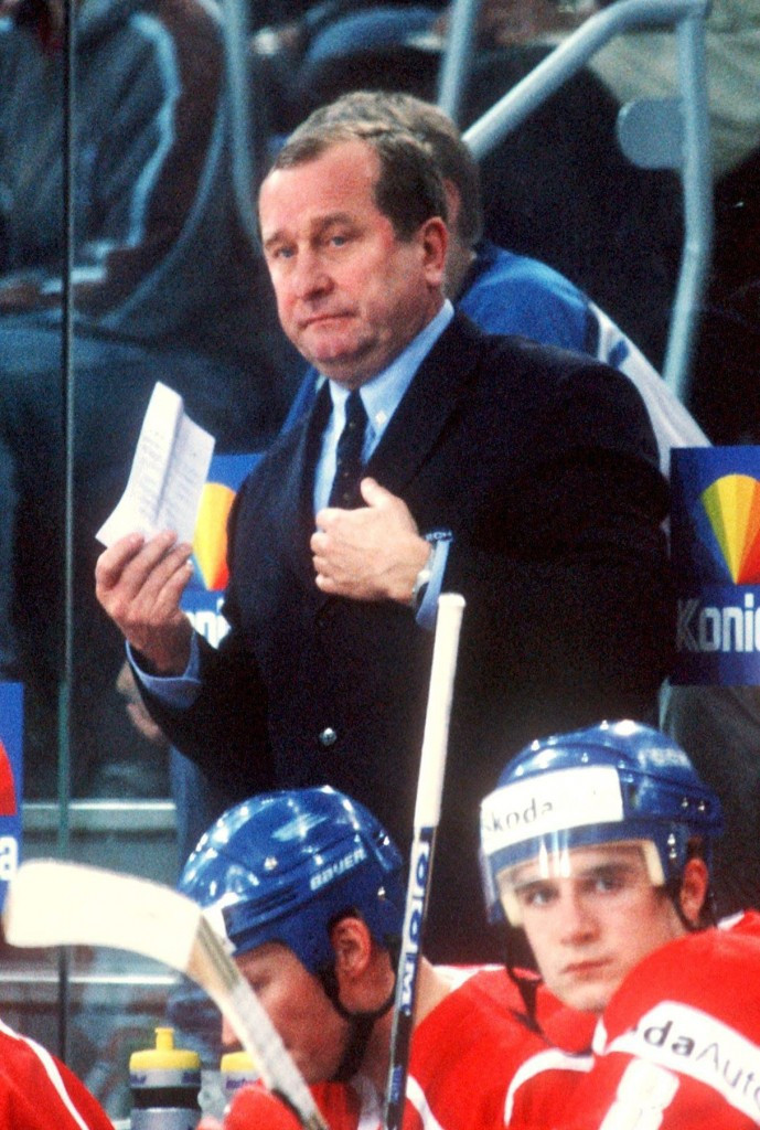 Josef Augusta coached the Czech Republic at the 2002 Winter Olympic Games in Salt Lake City ©Getty Images