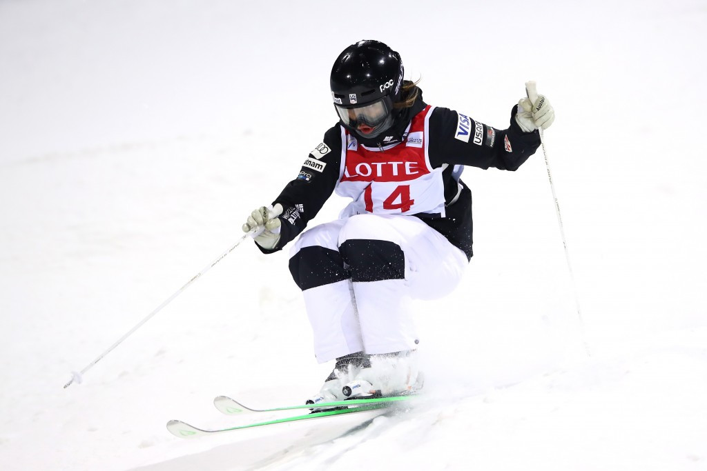 Kauf wins first moguls World Cup crown as Kingsbury and Cox claim titles