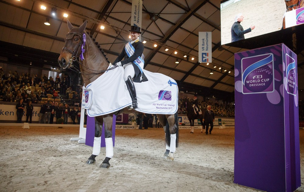 Werth extends lead at top of FEI Dressage World Cup
