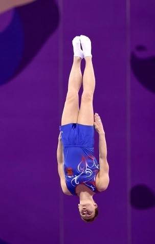 Russia superior in individual trampolining at World Cup in Baku
