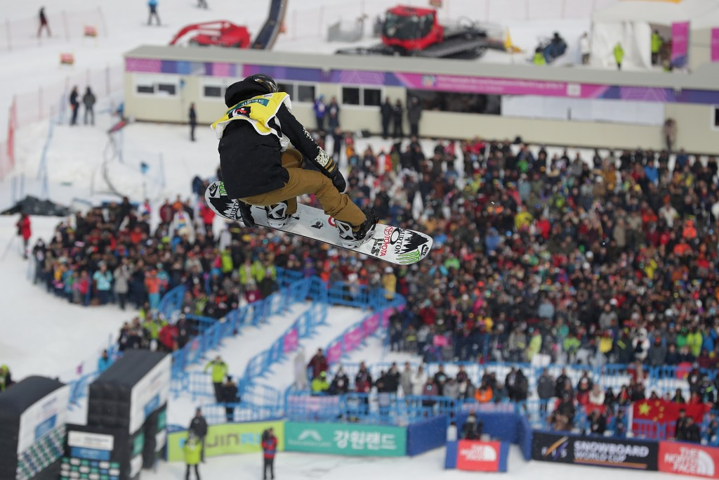 Snowboarder Kim bags first FIS World Cup title