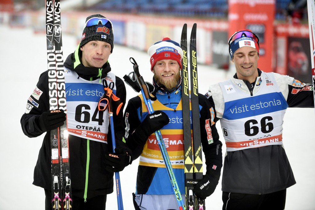 Norway's Martin Johnsrud Sundby extended his lead in the FIS Cross-Country World Cup standings after winning the men's 15 kilometres interval start classic competition in Estonian town Otepää today ©Getty Images