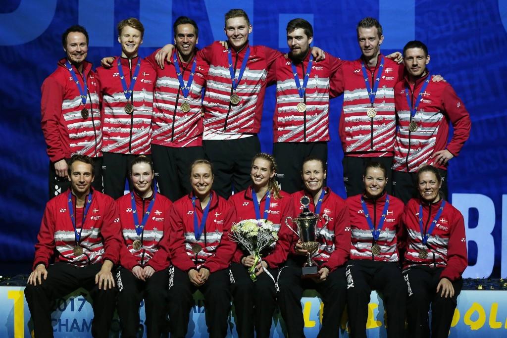 Denmark retain European Mixed Team Badminton Championships title