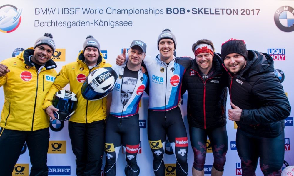 Germany's Friedrich claims fourth consecutive global crown at IBSF World Championships