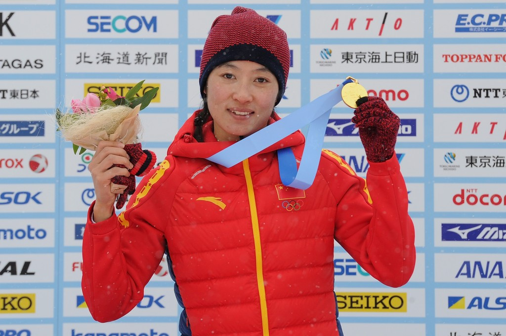 China's Man Dandan was a comfortable winner in the women's cross-country event ©Getty Images