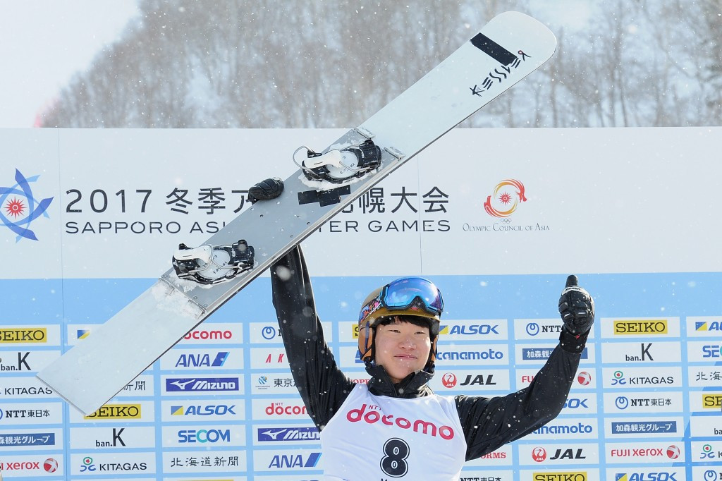 South Korean snowboarder secures second Sapporo 2017 gold
