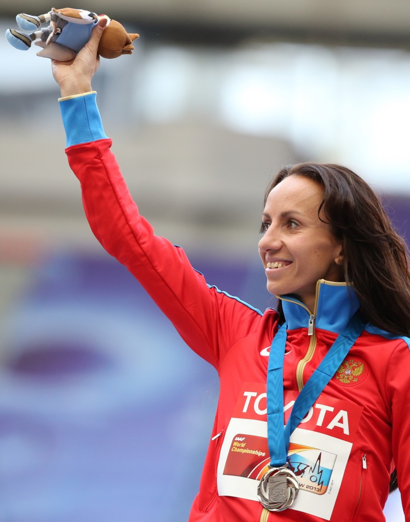 Mariya Savinova won the 800m world title in Daegu in 2011 ©Getty Images