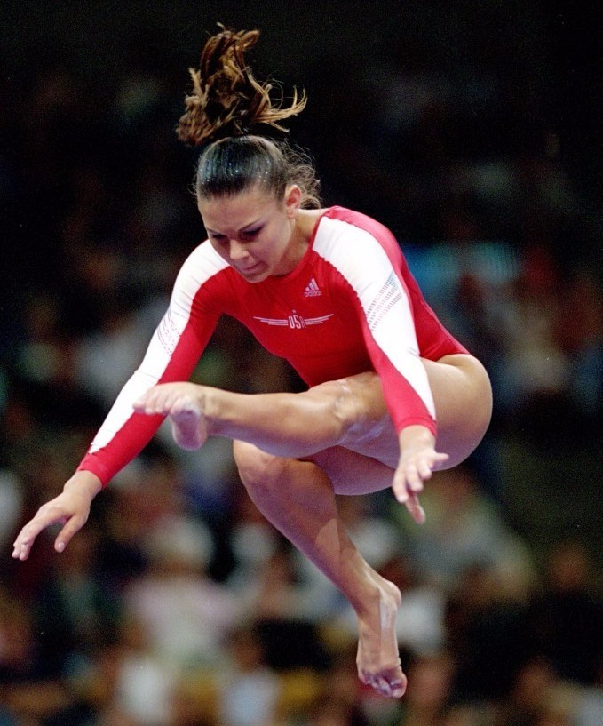 Jamie Dantzscher is the latest gymnast to have come forward with allegations ©Getty Images