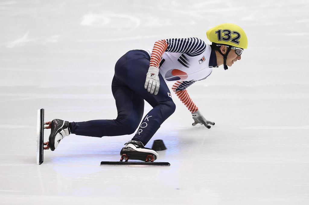 Park Se-yeong claimed South Korea's second gold medal today in the men's 1,500m ©Getty Images