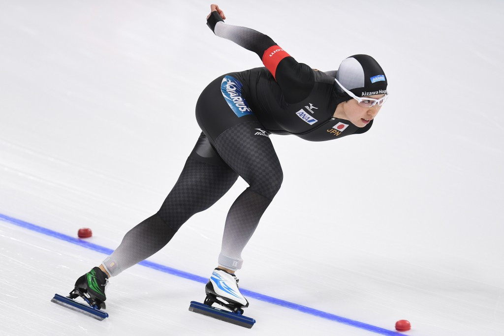 Japan's Nao Kodaira won the women's 1,000m at the Asian Winter Games ©Getty Images