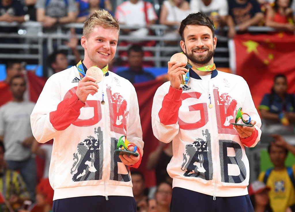 Badminton England saw their appeal turned down despite Chris Langridge, right, and Marcus Ellis, left, winning men's doubles bronze at Rio 2016 ©Getty Images