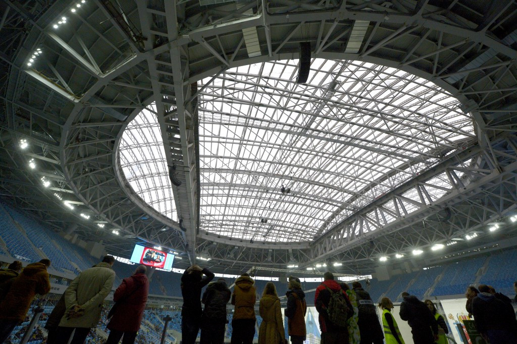 The  Krestovsky Stadium is one of four venues that will be used during this year's FIFA Confederations Cup ©Getty Images