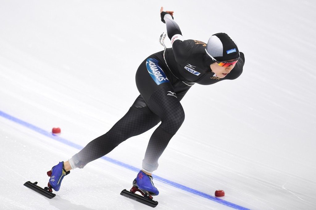 Miho Takagi of Japan was among the home winners at the Asian Winter Games in Sapporo ©Getty Images