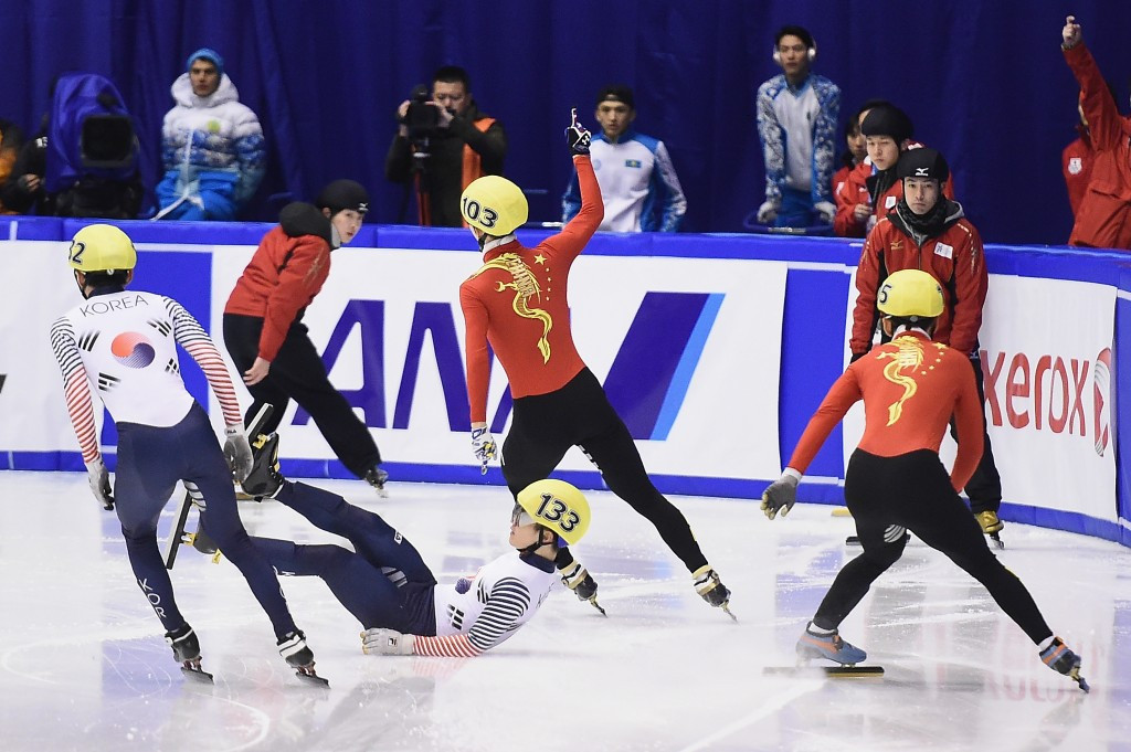 China's Wu Dajing triumphed in the men's 500m competition ©Getty Images