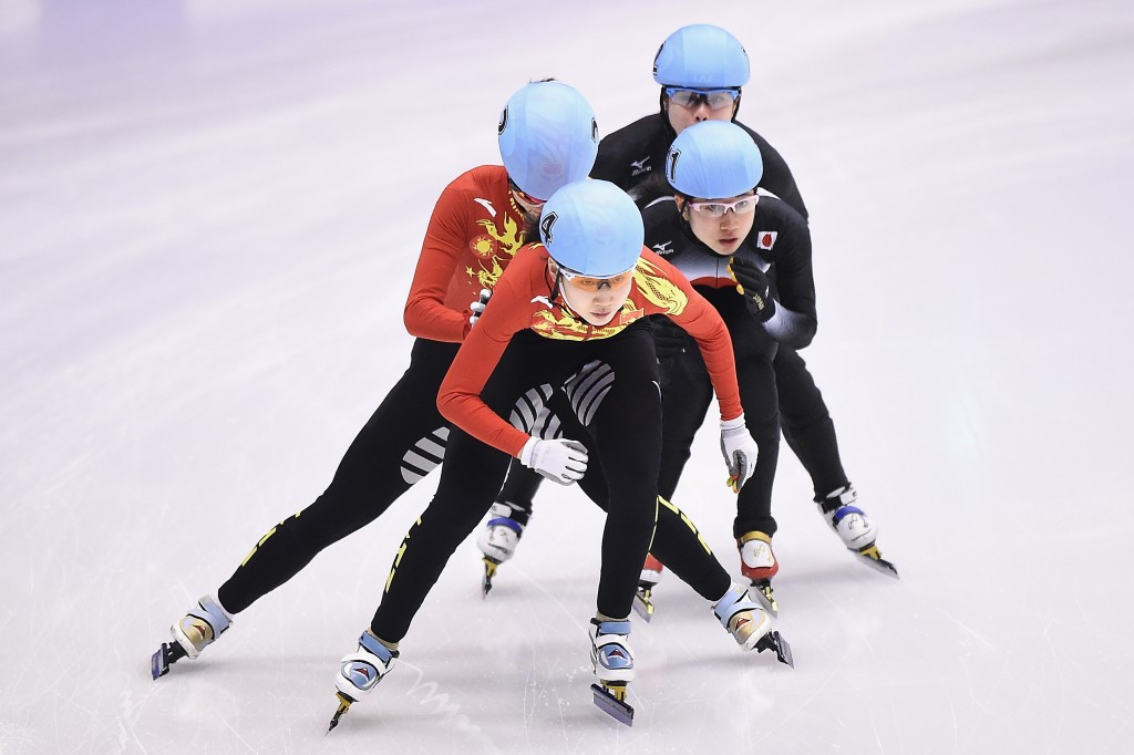China celebrate double short track gold at Sapporo 2017