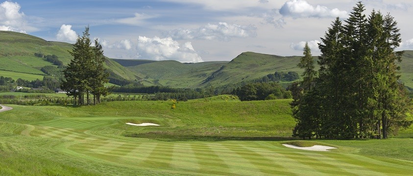Gleneagles hotel has become the second official partner of the Glasgow 2018 European Championships ©Glasgow 2018